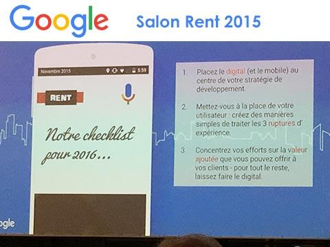 Un site immobilier performant : Conseil de Google