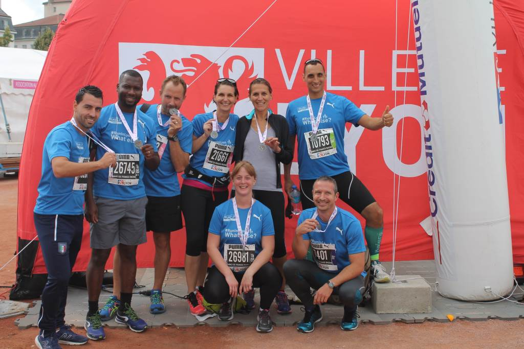 IMMO DE France Rhone Alpes participe au RUN IN LYON