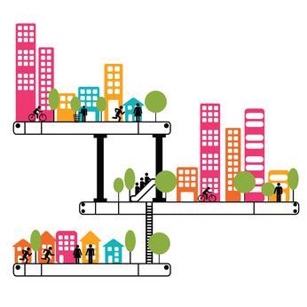 Quartier, marché, secteur 2015 : Région Rhône-Alpes