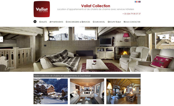 Vallat Collection : Location de biens immobiliers de luxe