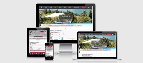 Barnes Mont-Blanc s'offre un nouveau look - Actualités immobilières