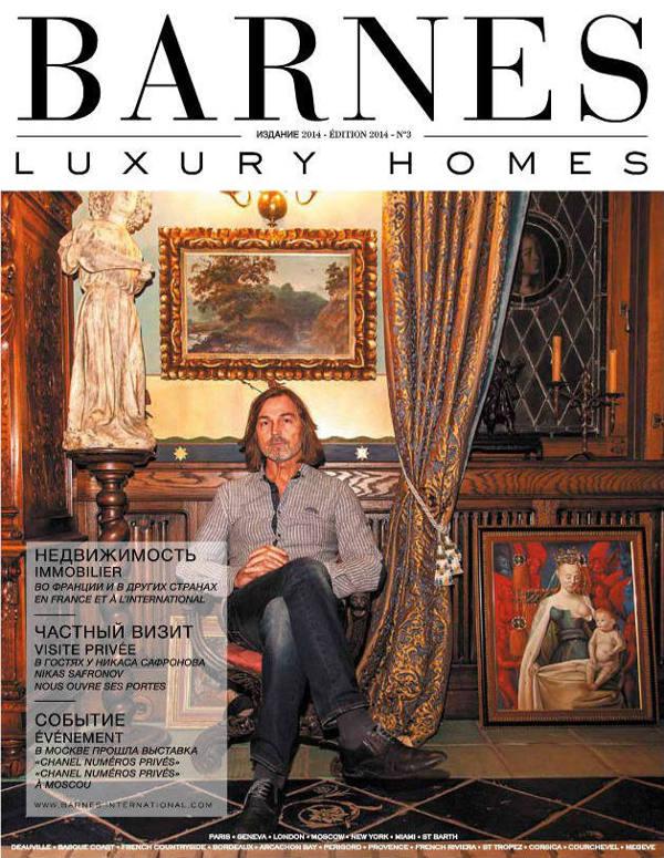 Découvrez le magazine Barnes Luxury Homes - Edition Russe - Magazines BARNES