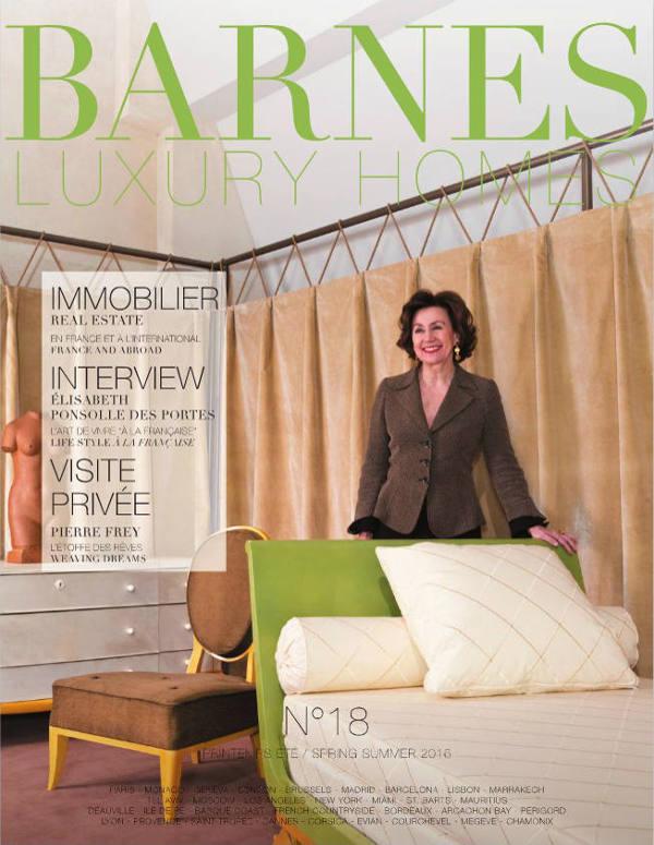 Découvrez le magazine Barnes Luxury Homes n°18 - Magazines BARNES