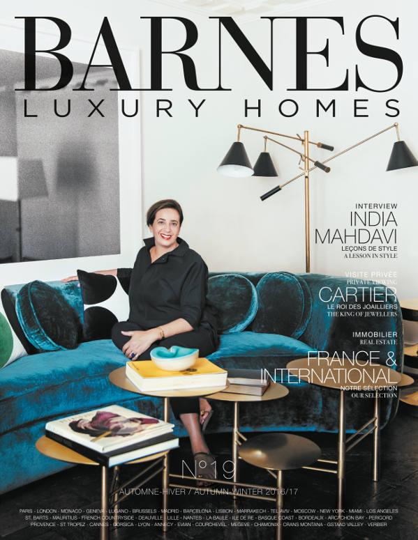 Découvrez le magazine Barnes Luxury Homes n°19, édition Automne Hiver - Magazines BARNES