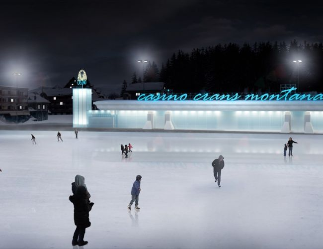 Patinoire d'Ycoor
